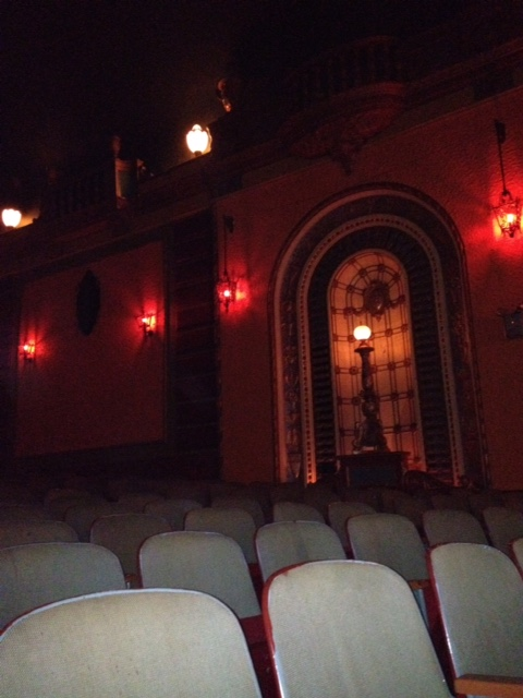 Inside the Patio Theater